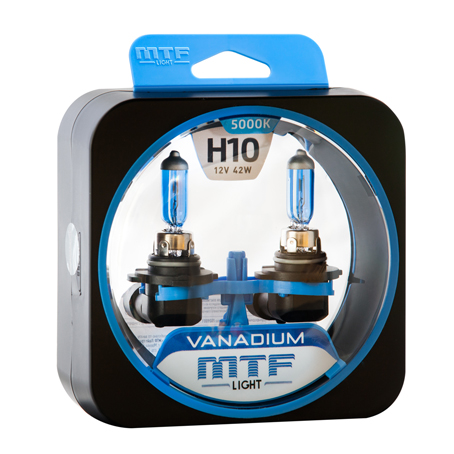 Автолампа H10 12v 42w MTF Light Vanadium набор 2шт
